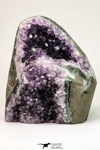 09105 - Beautiful Purple Natural Amethyst Geode Minas Gerais District - Brazil