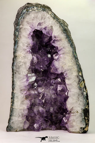 09163 - Top Beautiful 10.31 Inch Purple Natural Amethyst Geode Minas Gerais District - Brazil