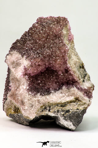 09168 - Beautiful 3.52 Inch Pink Cobaltoan Calcite Crystals on Matrix - Bou Azzer Mine (South Morocco)