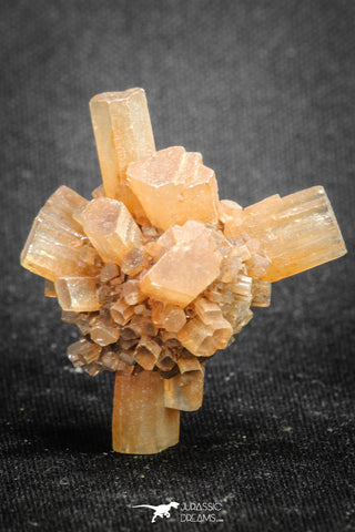 20085 - Nice 1.38 Inch Aragonite Twinned Crystal Cluster - Safro Mine, Bou Azzer, Morocco
