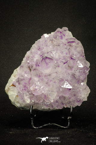 20140 - Beautiful Purple Natural Amethyst Crystals Cluster Minas Gerais District - Brazil