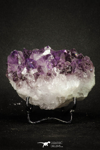 20142 - Beautiful Purple Natural Amethyst Crystals Cluster Minas Gerais District - Brazil