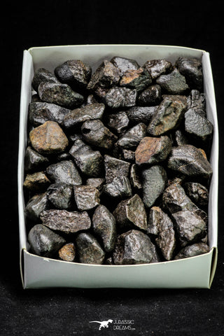 21267 -  NWA L-H Type Unclassified Ordinary Chondrite Meteorites Lot 20g (3 pieces aprox)