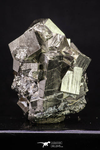 20323 - Beautiful 1.97 Inch Pyrite Crystals from famous Navajun Mines (Spain)