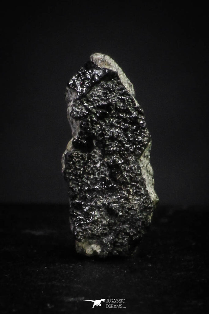 "21376 - Top Rare ""Tissint"" MARTIAN Shergottite Meteorite 0.096g with Fusion Crust"