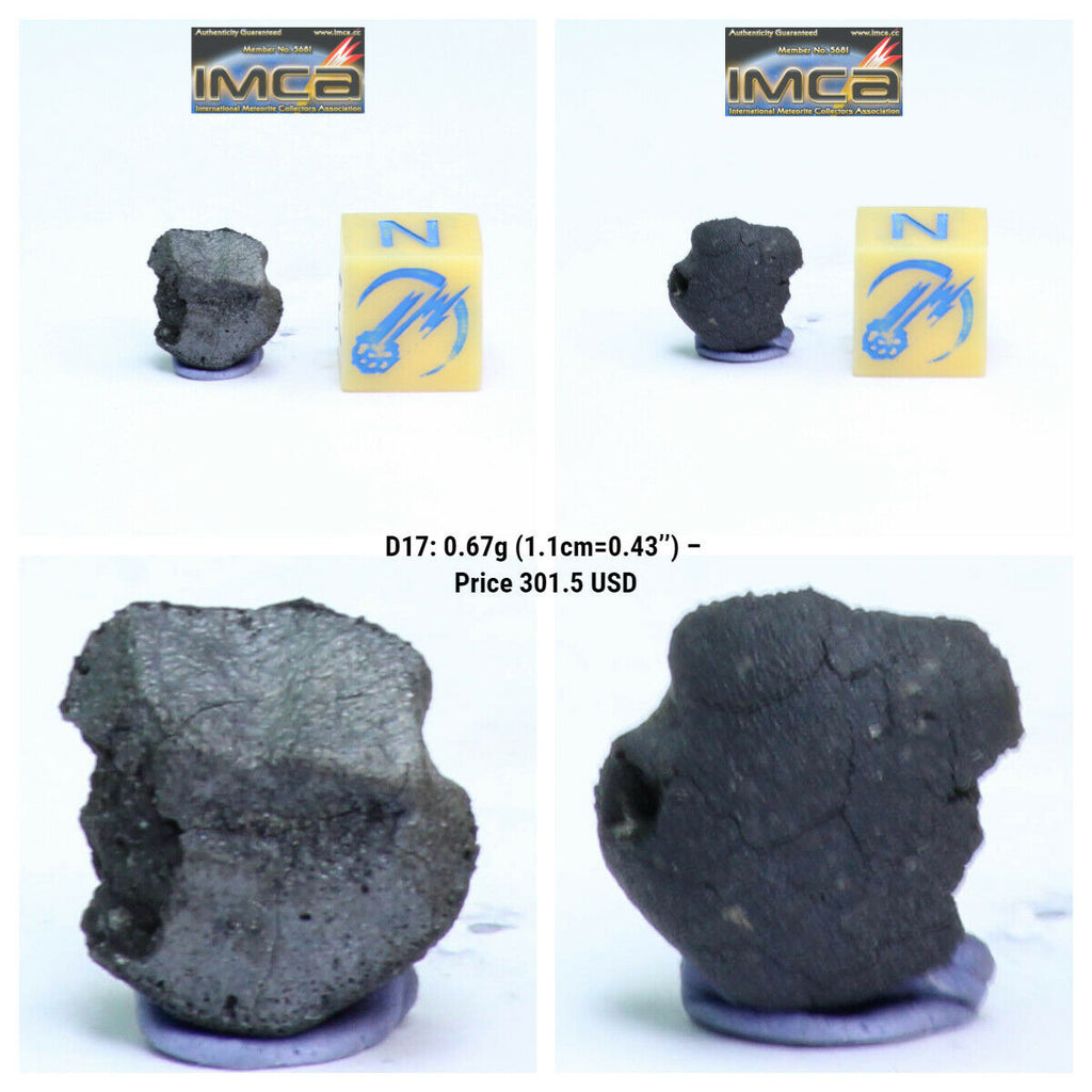 New Classification TARDA Carbonaceous Chondrite C2 Ung 0.67g Witnessed Meteorite - Eric Order
