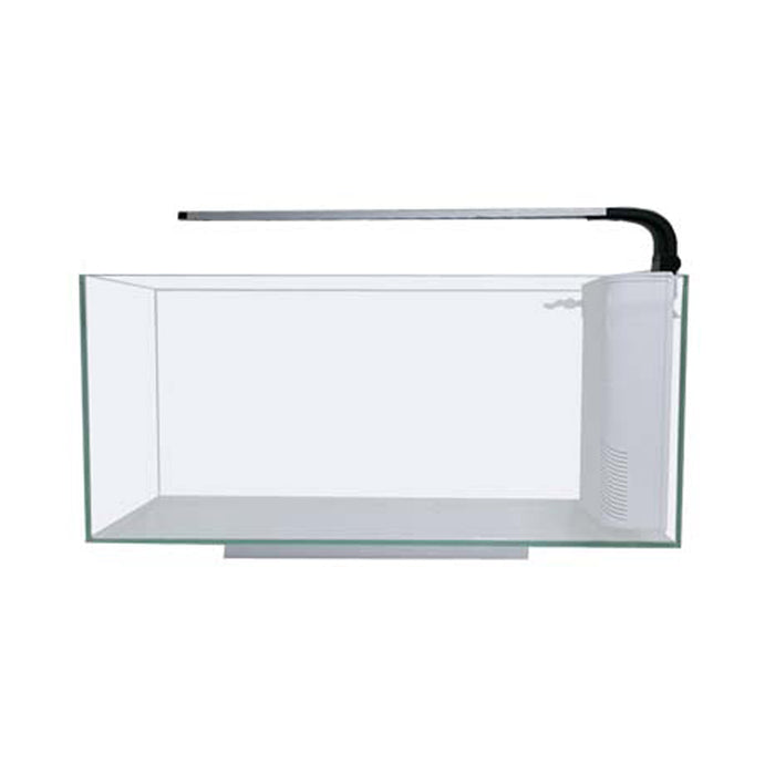 JBJ 10G Rimless Desktop Peninsula Aquarium w/9W LED RL-10-FPP
