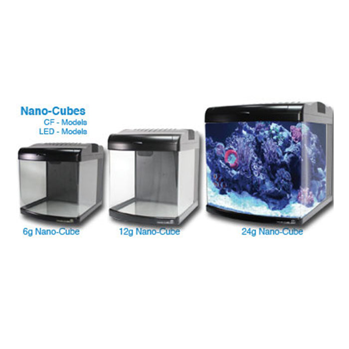 JBJ 24G NanoCube LED Aquarium - Black MT-508L Lineup