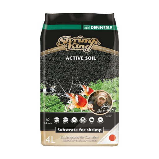 Dennerle Shrimp King Active Soil - 4L Bag DE-SKS4