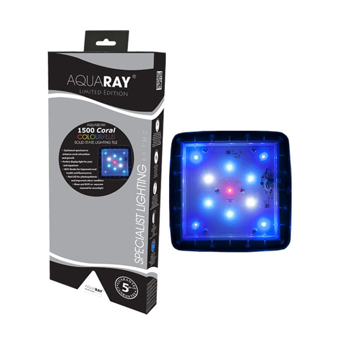 AquaRay AquaBeam 1500 Coral Colour Plus LED Aquarium Lighting Tile