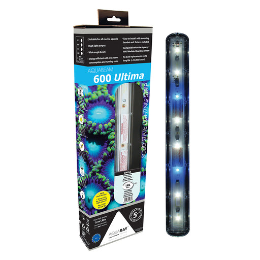 AquaRay AquaBeam 600 Ultima Marine White Single Strip 2704-US