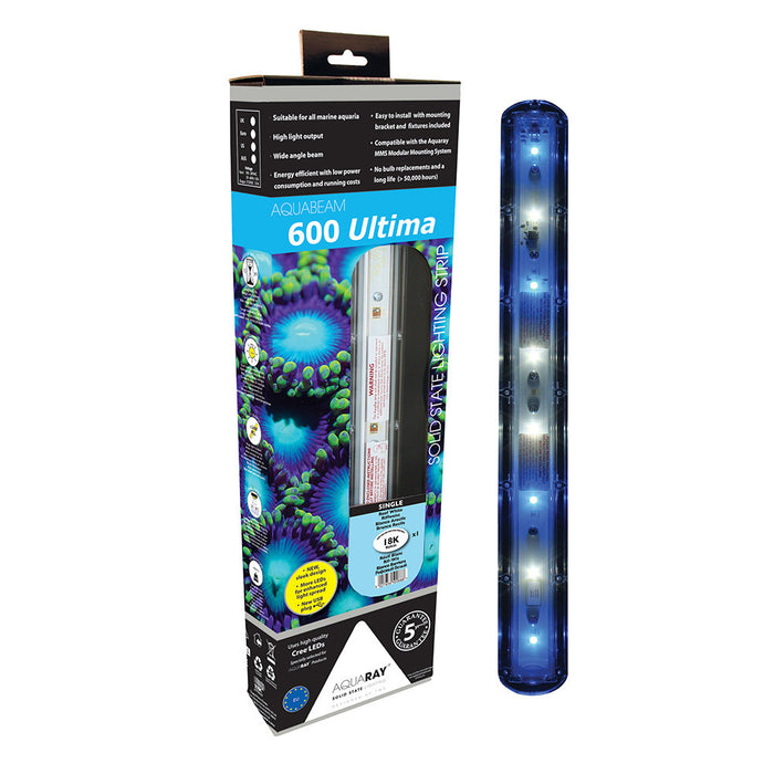 AquaBeam 600 Ultima Strip Reef White Single
