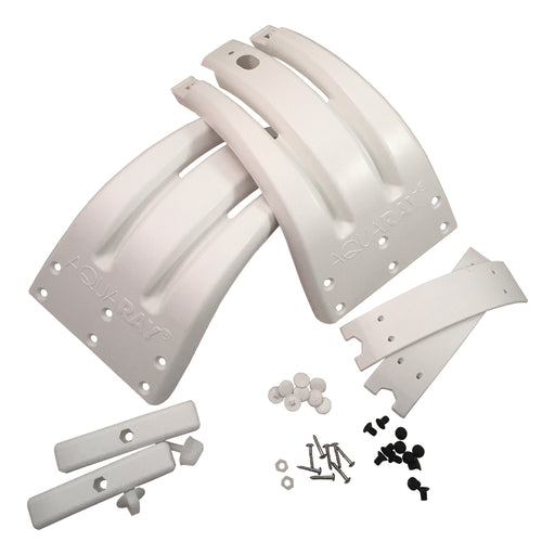 AquaRay MountaRay Tank Mounting Brackets (White)