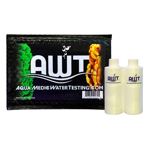 AquaMedic Marine Aquarium Water Testing Lab Kit