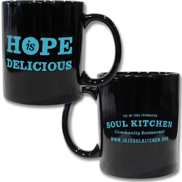 Hope Is Delicious Mug (Blue)