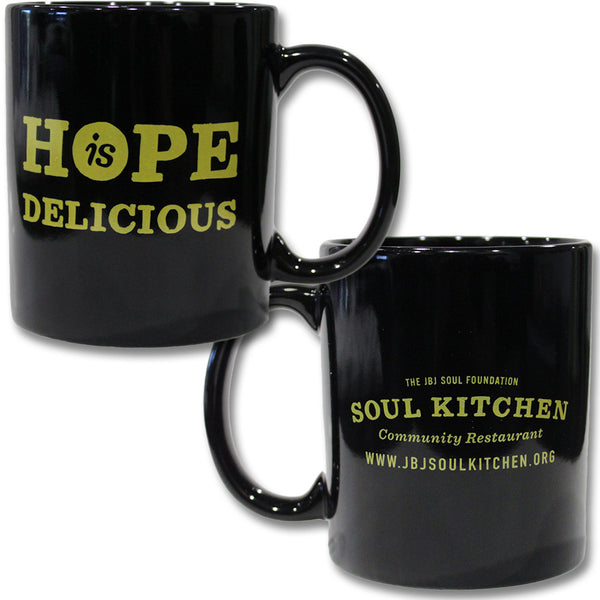Hope Is Delicious Mug (Yellow)