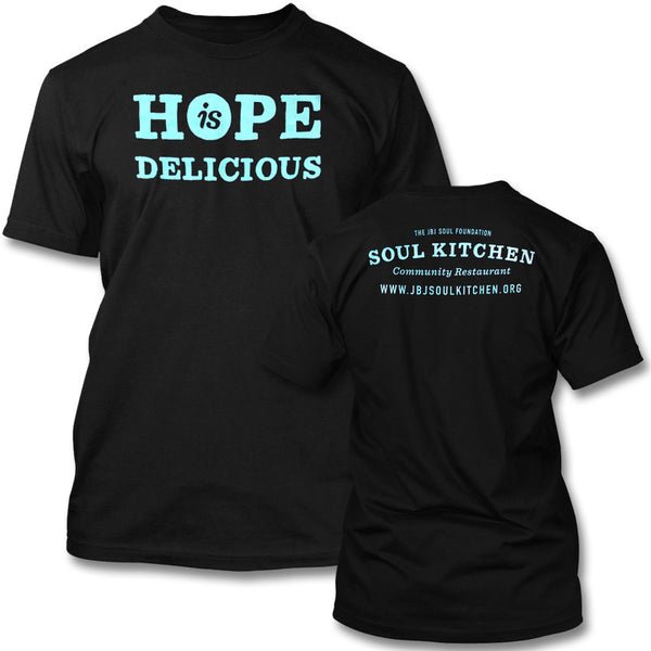 Hope is Delicious T-shirt (Blue)