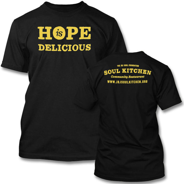 Hope is Delicious T-shirt (Yellow)