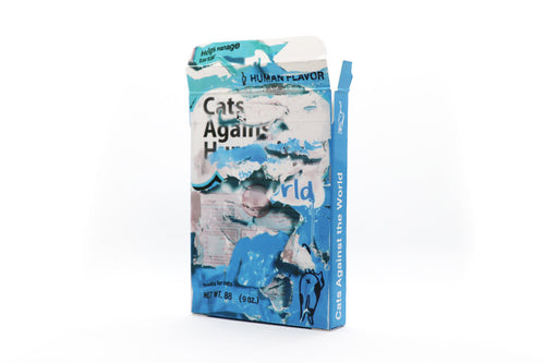 Cats Against the World Human Flavored Cat Treats Pack