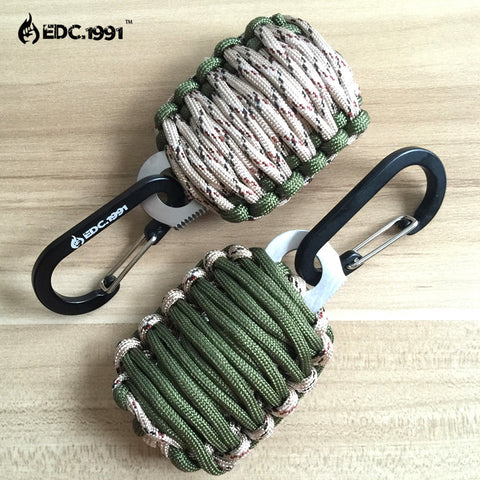 NEW Paracord Grenade Survival Kit - ComeUpGear
