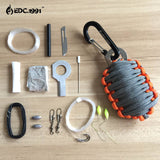 NEW Paracord Grenade Survival Kit