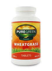 <strong>Wheatgrass Tablets (500 ct) <br> <i>Made with 100% Organic Wheatgrass</i></strong>