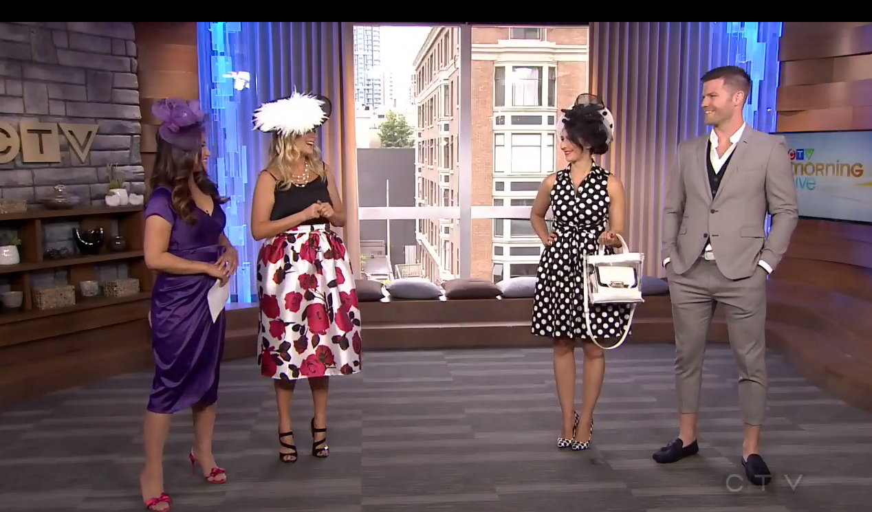 NLA DESIGNS ON CTV MORNING LIVE NEWS FOR DEIGHTON CUP