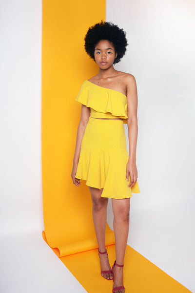 LEICA SKIRT - YELLOW