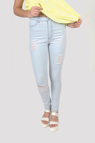 Blondie B High Waisted Skinny Jeans