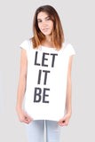 Anouk Crew Neck Tee Combo 4 - Let It Be