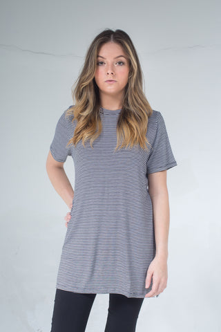 Aila Oversize long T-shirt LA-007