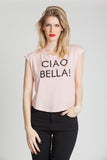 Bella Sleeveless Round Neck Tee
