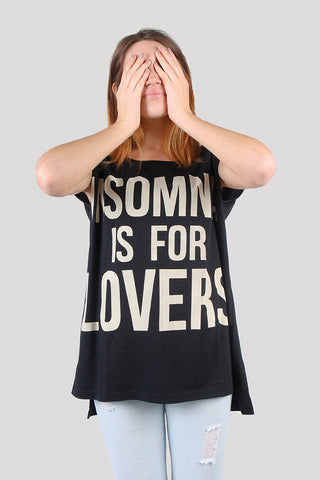 Anouk Crew Neck Tee Combo 1 -Insomnia Is for Lovers