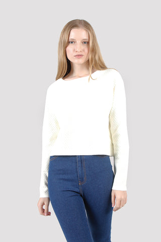 Emma Long Sleeve Raglan Knit Sweater