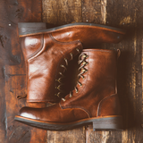 Pat - Brown - KLR Footwear Boots