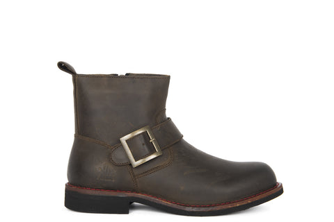 Frankie - Dark Brown - KLR Footwear Boots