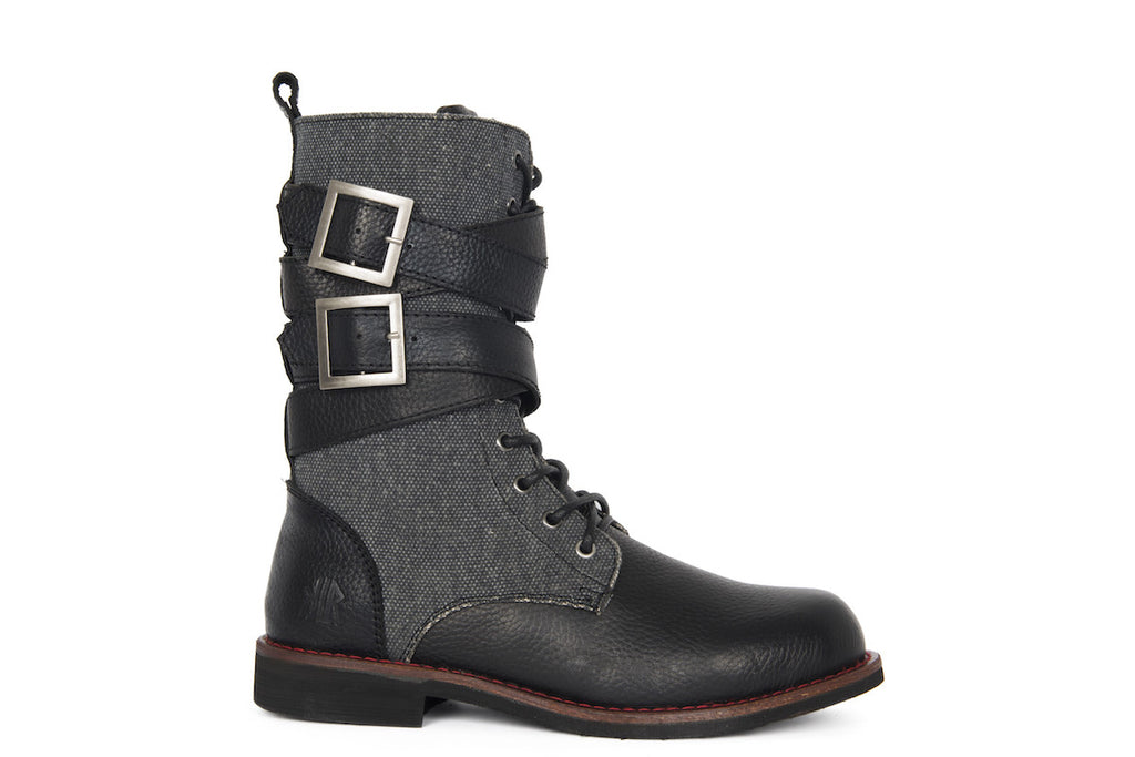 Jimi Can - Black - KLR Footwear Boots