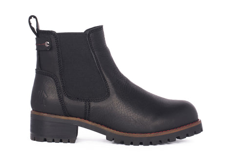 Lee - Black - KLR Footwear Boots