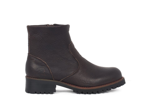 Loren - Dark Brown - KLR Footwear Boots