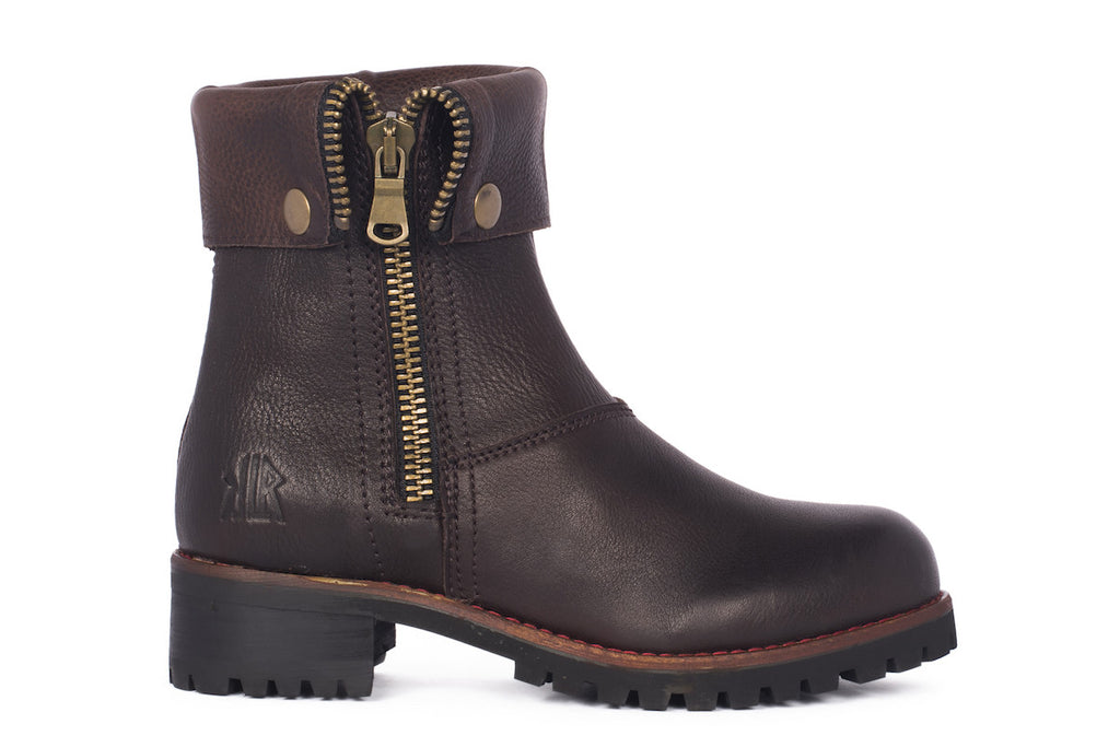Parker - Dark Brown - KLR Footwear Boots