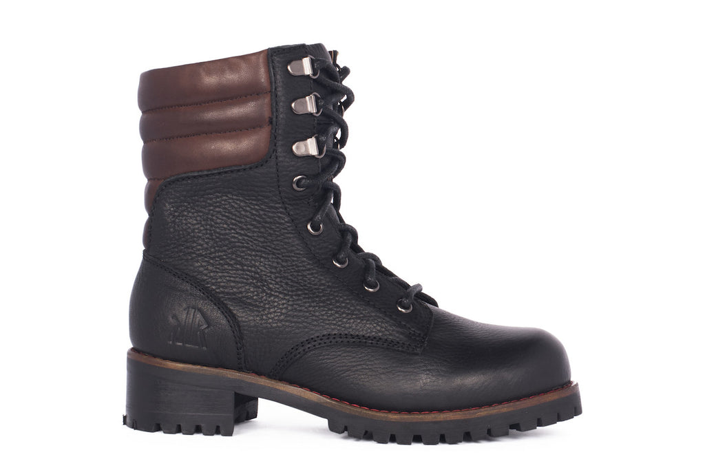 Riley - Black - KLR Footwear Boots