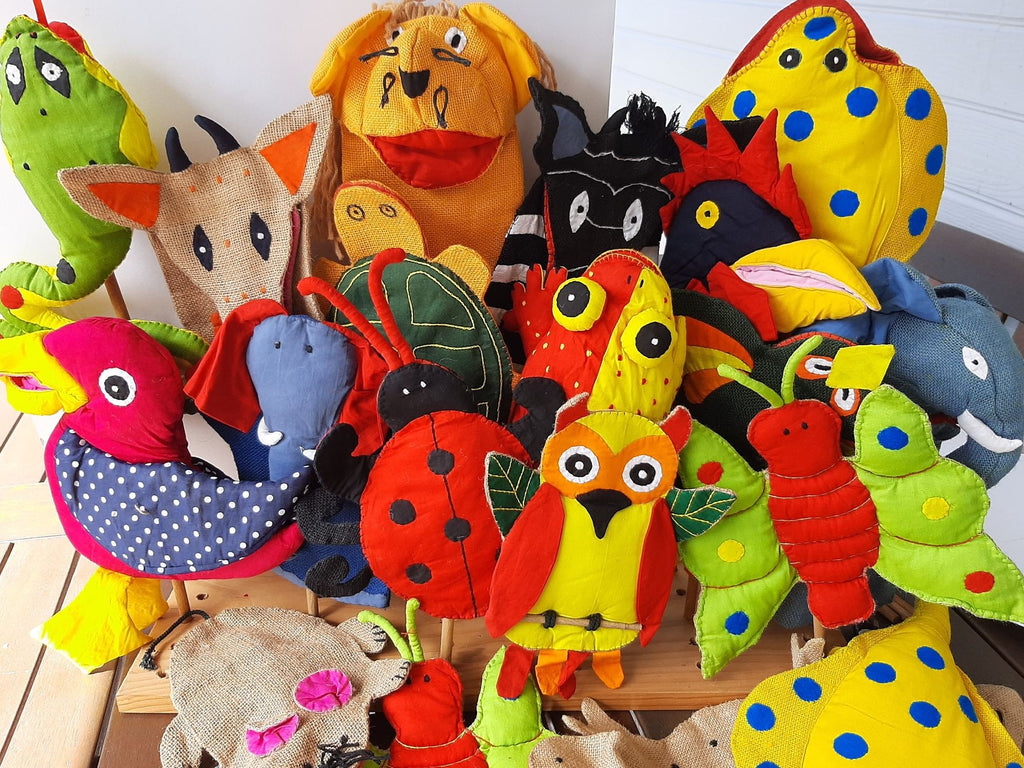 Hand Puppets - Fairtrade Assorted