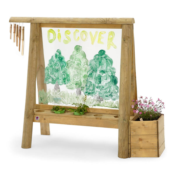 Plum Discovery Wood Create and Paint Easel - Pre-order Available Oct.