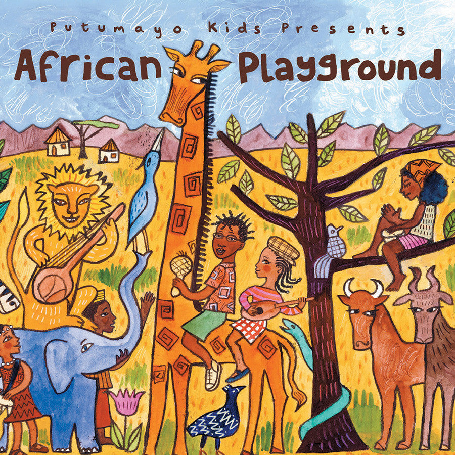 World Music Putumayo CD - African Playground