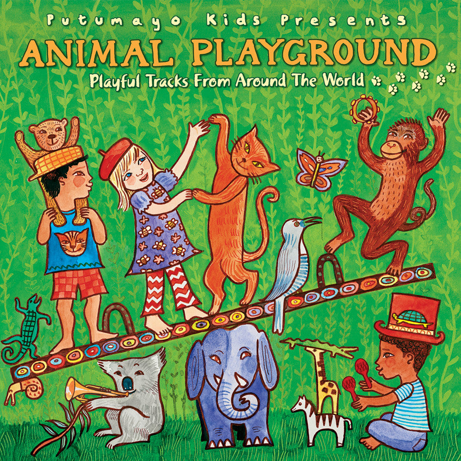 World Music Putumayo CD - Animal Playground