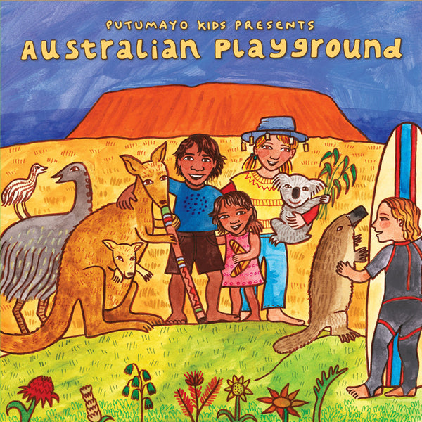 World Music Putumayo CD - Australian Playground
