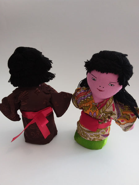 Dolls - Multicultural Display Pair - Asian