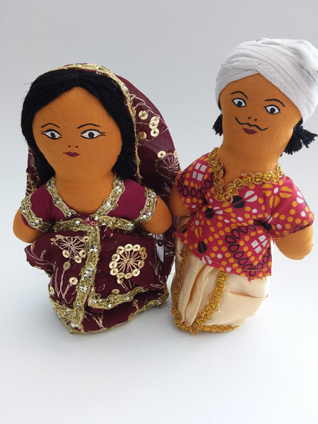 Dolls - Multicultural Display Pair - Indian