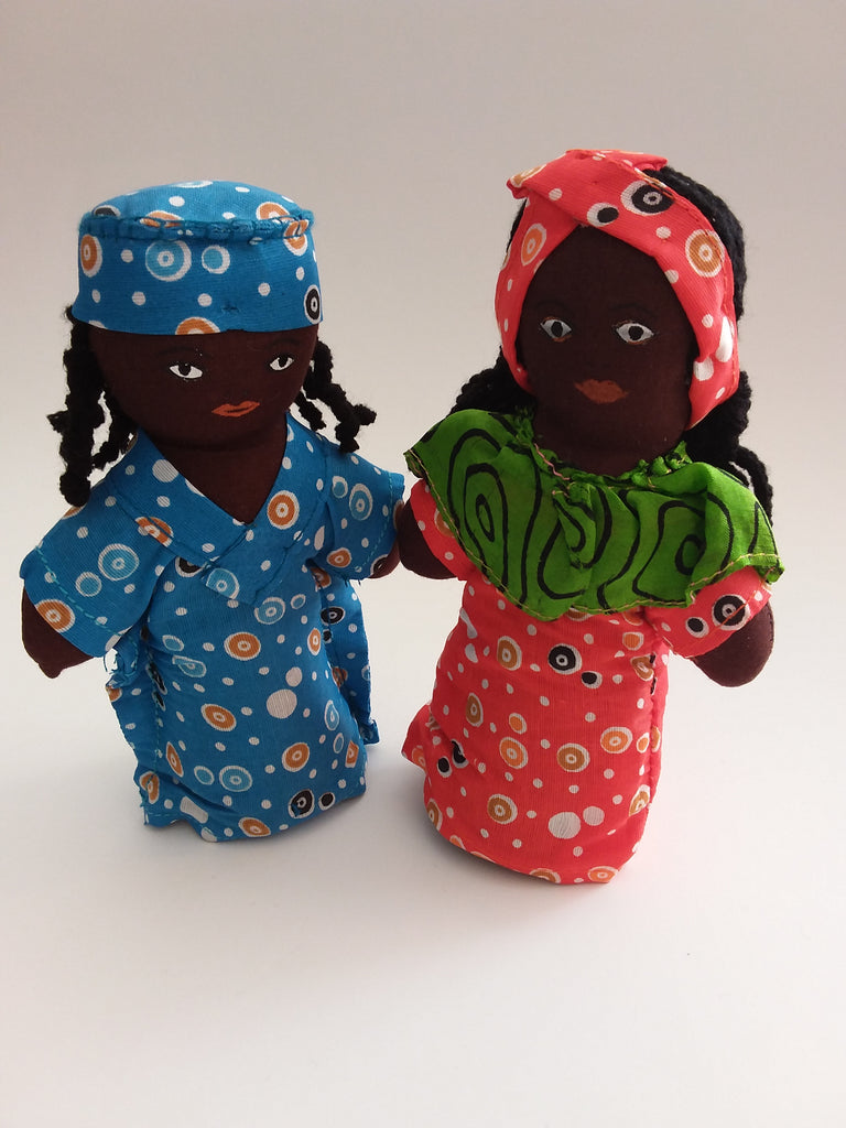Dolls - Multicultural Pair - African