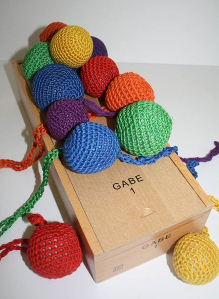 Froebel Gabe No. 1 - Yarn Balls - Summer Hill Kids
